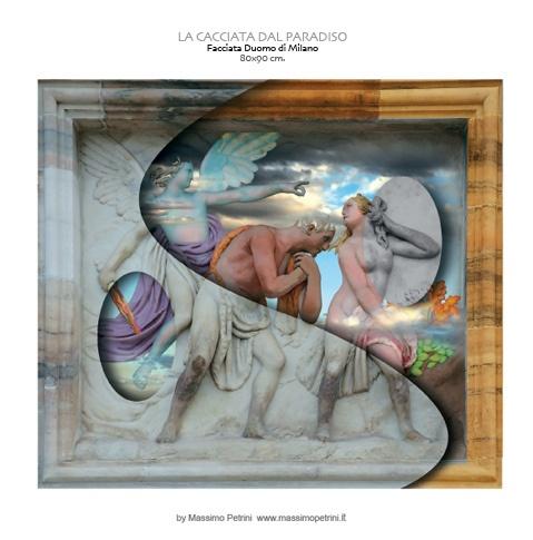 """""""La cacciata dal paradiso""""/""""Theexpulsion from the paradise"""" by Massimo Petrini"""