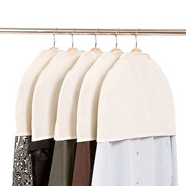 Prevent Dusty Blazers And Coats With Shoulder Covers #closet #storage  #garmentbag