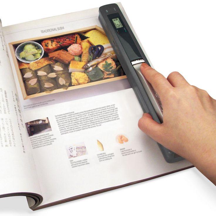 The Portable Handheld Scanner - Hammacher Schlemmer