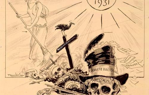 Año nuevo 1931 - Ricardo Rendón