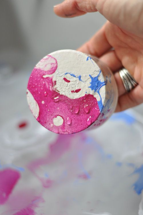 DIY: Marbling with Nail Polish