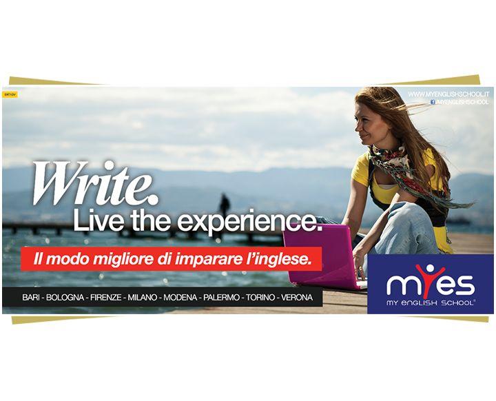 Campagna istituzionale multisoggetto per My English School firmata DRT #advertising