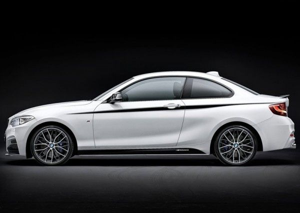 2014 BMW 2 Series Coupe with M Performance Parts Exterior View 600x426 2014 BMW 2 Series Coupe with M Performance Parts Review and Design