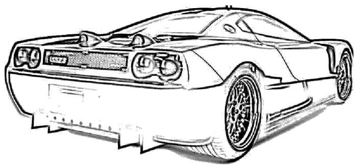 koenigsegg supercars race coloring page