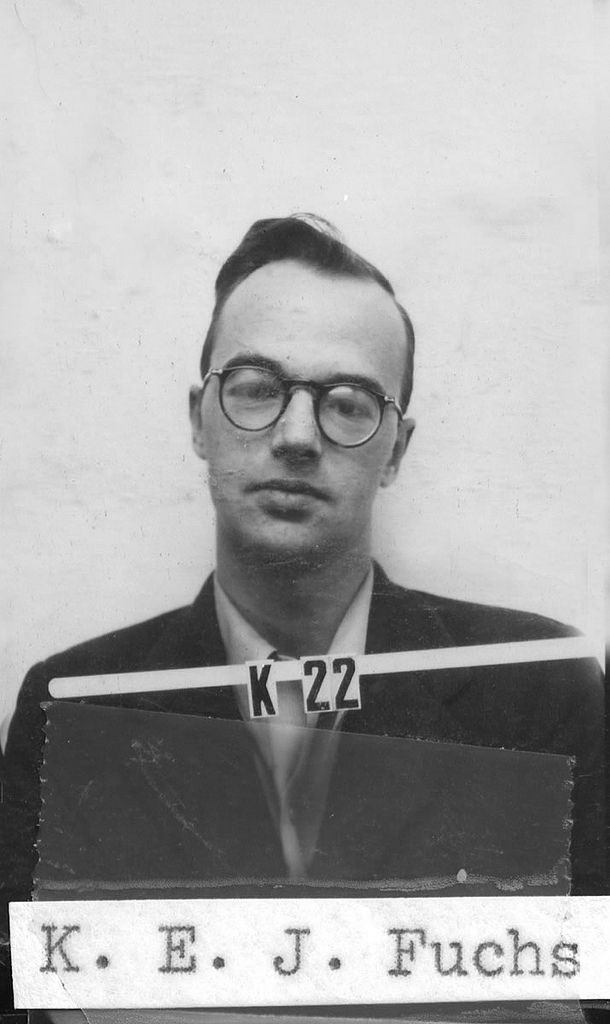 ID Photo of Klaus Fuchs | Community Post: 24 Extraordinary Photos Of The Making Of The Atomic Bomb