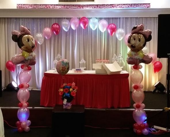 22 best balloon arches images on pinterest balloon arch for Balloon decoration ideas for 1st birthday