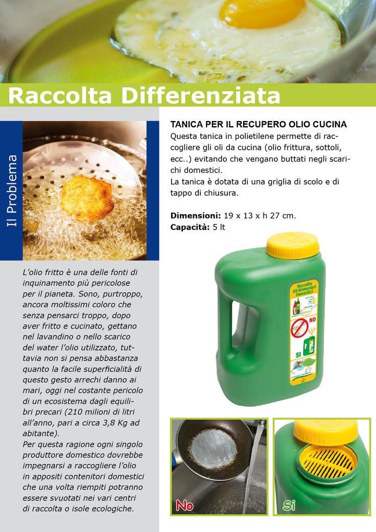 I nostri batteri, gli umili eroi della depurazione, non amano l'olio delle vostre patatine. Come l'olio lubrificante, anche quello da cucina è un veleno. Vi consigliamo, pertanto, di lasciarlo raffreddare e di portarlo in un centro di raccolta. Il vostro olio usato potrà essere riutilizzato per produrre biodisel per trazione, lubrificanti per macchine agricole, mastici, adesivi, bitumi o impermealizzanti.  R COME RICICLO - Curiosità ed informazioni sulla raccolta differenziata e sul…