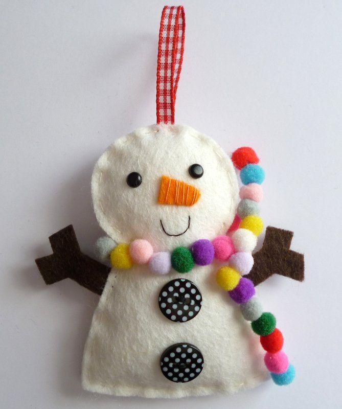 bonhomme de neige rigolo