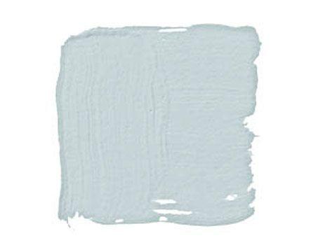 Benjamin Moore Glass Slipper: Grayish blue. A timeless neutral.