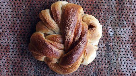 Kanelknuter: Kanelsnurrer fra Bakeriet i Lom