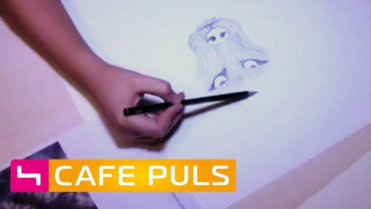 Wunderkind Patricia- Zeichnen wie die Großen!   Café Puls