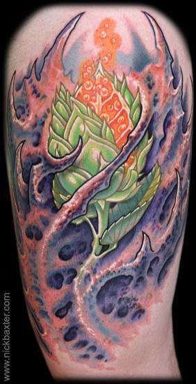Nick Baxter - Possible tattoo artist