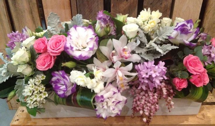 Scented table arrangement from Twigs Florist