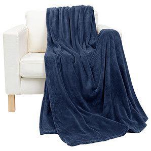 Coral Fleece Blanket - True Navy Another blanket donated to the Salvo's Winter blanket appeal
