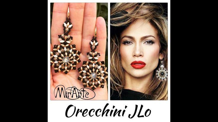 DIY Tutoria orecchini JLo (Jennifer Lopez)