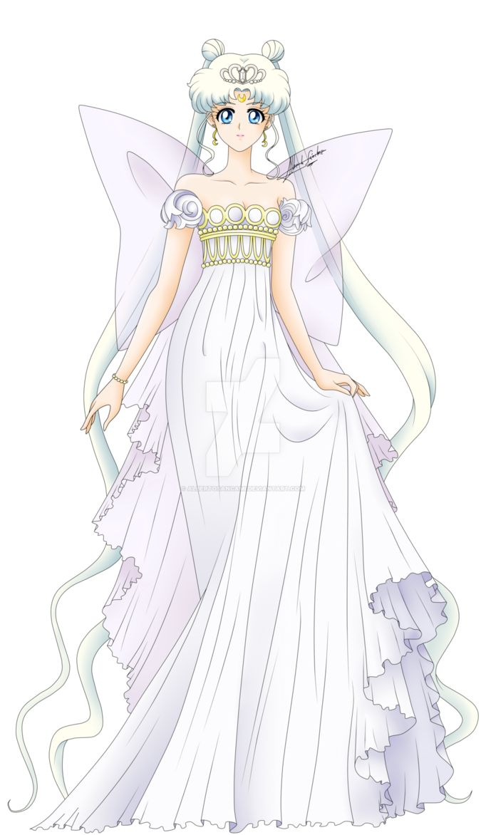 Neo Queen Serenity - Crystal ver. by AlbertoSanCami on DeviantArt