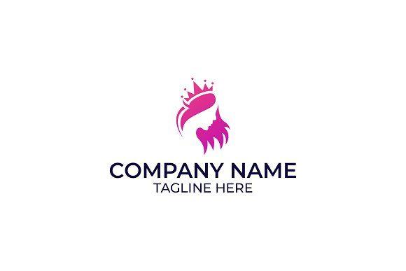 Beauty Queen Logo Design Logo Design Beauty Logo Design Beauty Logo