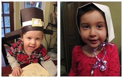 Pilgrim Hat and Bonnet