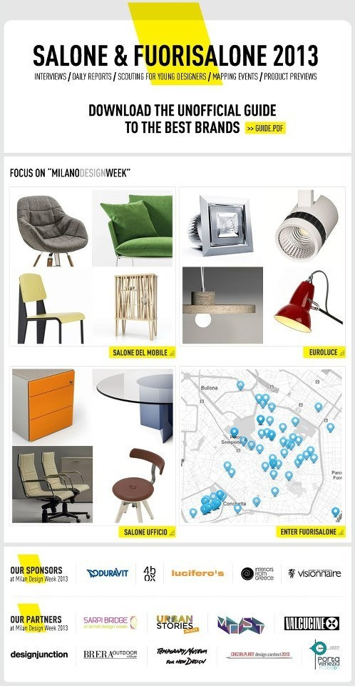 Visit our online special edition: #milandesignweek #mdw13 http://www.archiproducts.com/en/events/milano-design-week