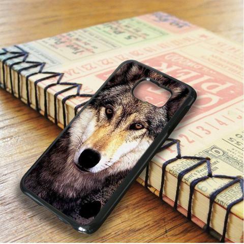 Wolf Face Samsung Galaxy S6 Edge Plus Case