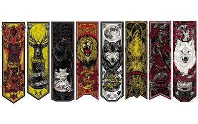 Game of Thrones house crests wallpaper