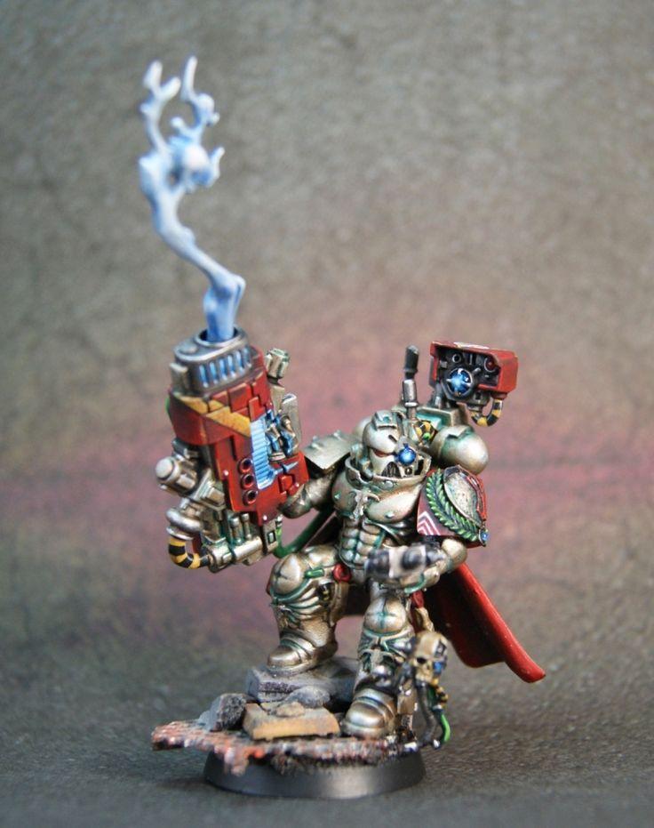 Kromlech Thanatos - Minotaurs Devastator Veteran Sgt.