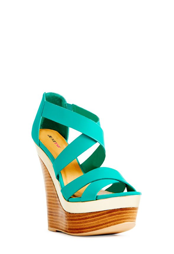 The essential wedge for the season, Hollyn by JustFab is the perfect mate for your summer wardrobe.