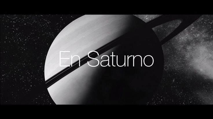 Pablo Alborán – Saturno (Lyric Video)