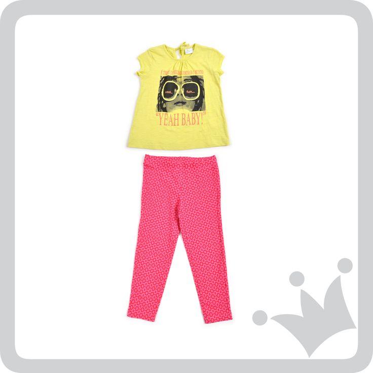 Colores cítricos y neones llegaron en esta temporada para dar un toque muy #trendy al look de las niñas.