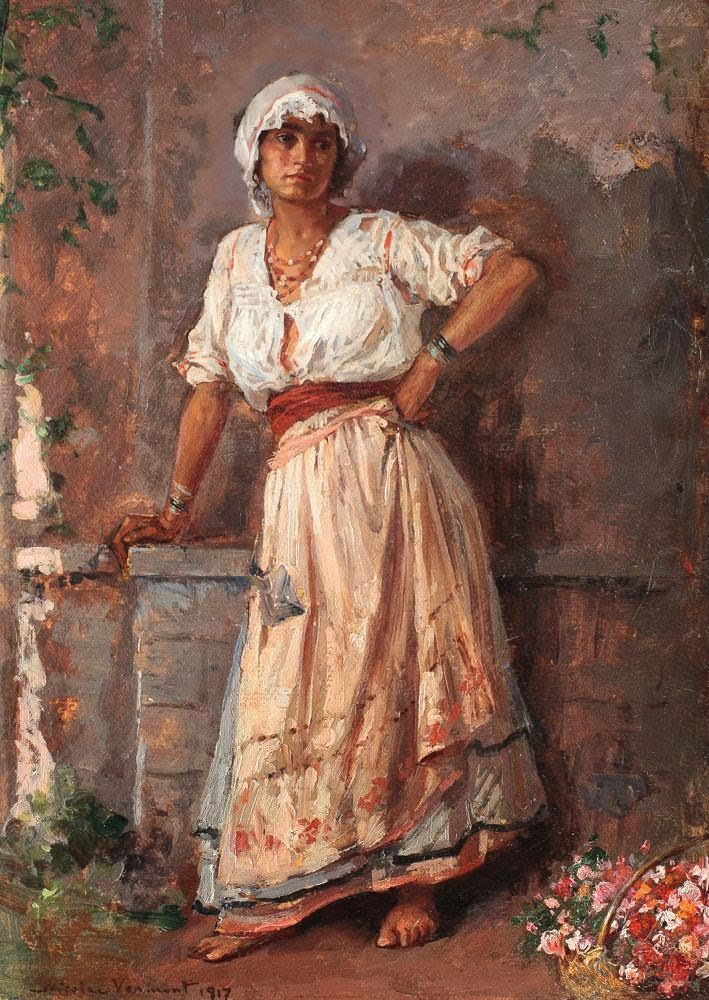 Nicolae Vermont | Romanian Realist Painter | 1866-1932