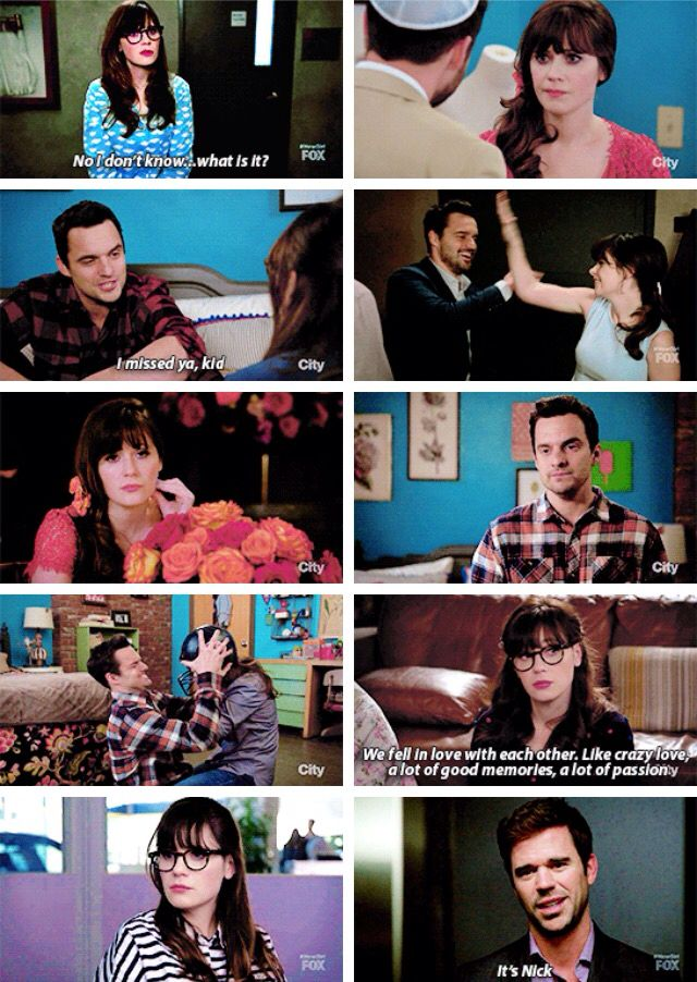 """It's Nick"" - Sam and Jess #NewGirl"