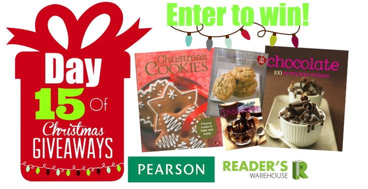 Day 15 Hamper sponsored by Pearson is the ultimate Christmas Baking hamper. Filled with delicious cook books to help you have the most decadent Christmas yet! Enter now: https://gleam.io/cQknt/day-15-of-christmas-giveaways