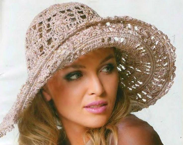 Carla crochet e não só... !!! : Chapeu com gráfico crochet - Sugestões Verão