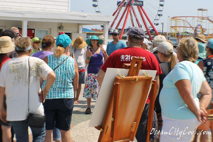 Artists Paint OC 2018: A Plein Air Event hosted by Art League of Ocean City MD on March 8 - 12... #oceancitycool