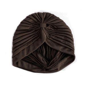 comprar turbante marrón en makedoonia tienda online de accesorios de moda