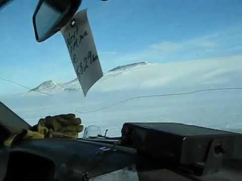 Antarctica - caught in a storm -