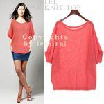 Mesh Knit Top from en.leejiral.com // $20.55