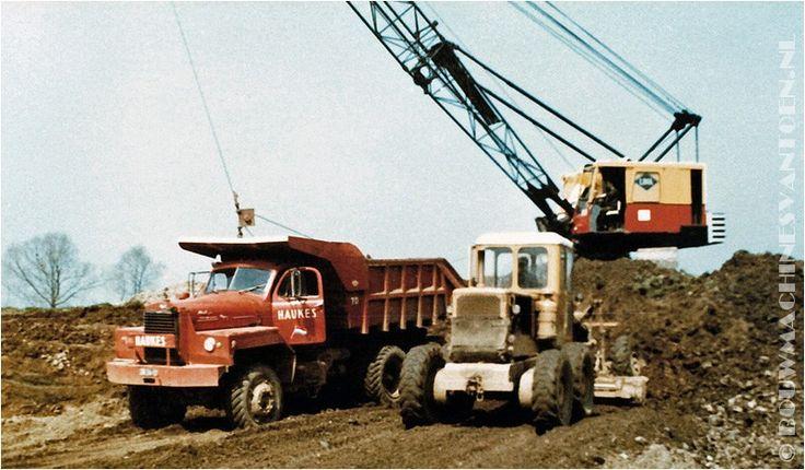 MACK kipper, CATERPILLAR grader en een LIMA dragline - dragline operator sample resume