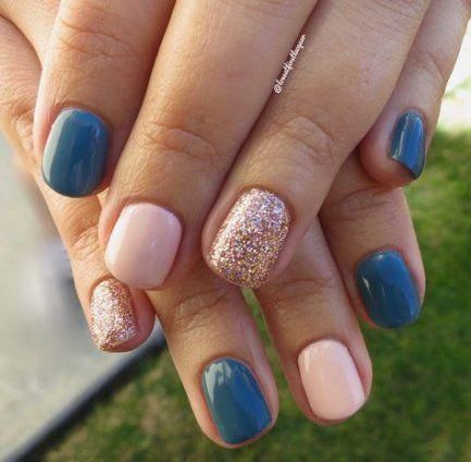 40 ideas nails colors combinations glitter #toenails