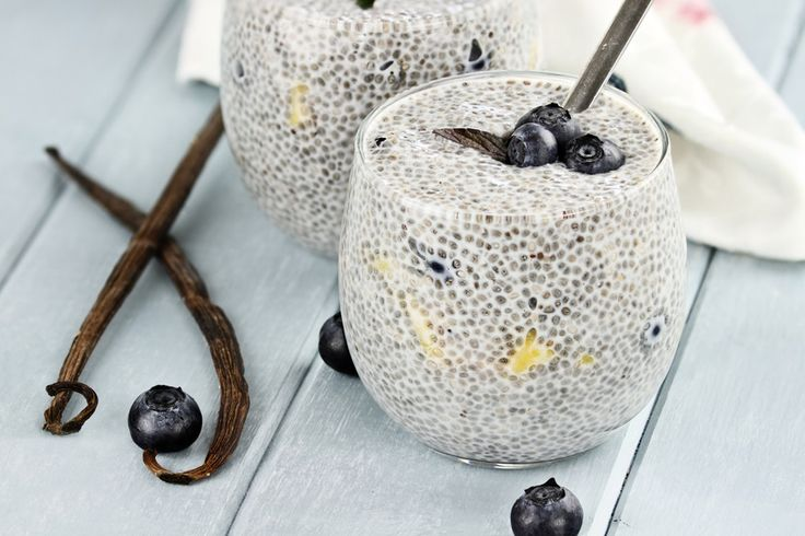 Készíts pár perc alatt egy zseniális reggelit chia magból!