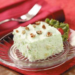 Lime Jello Salad - I've made this for 30 years without the pears but like the idea.  My recipe is called Pale Green Salad.