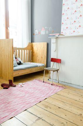 Kinderkamer met #muurstickers #dorp | Tis Lifestyle