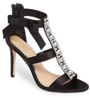 Badgley Mischka Women's Henderson Embellished Bow Sandal