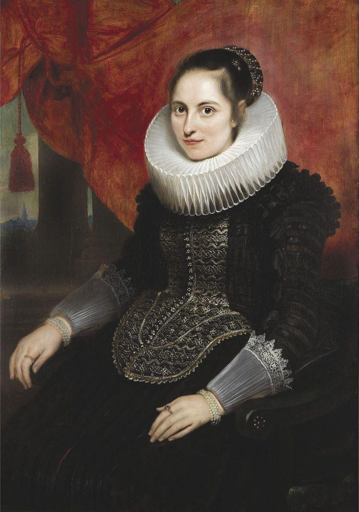 Portrait of Maria van Ghinderdeuren 1625 Cornelis de Vos