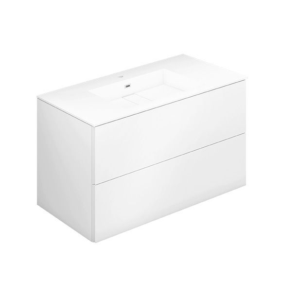 Die besten 25+ weiß vanity Badezimmer Ideen auf Pinterest Weiße - badezimmer unterschrank mit waschbecken