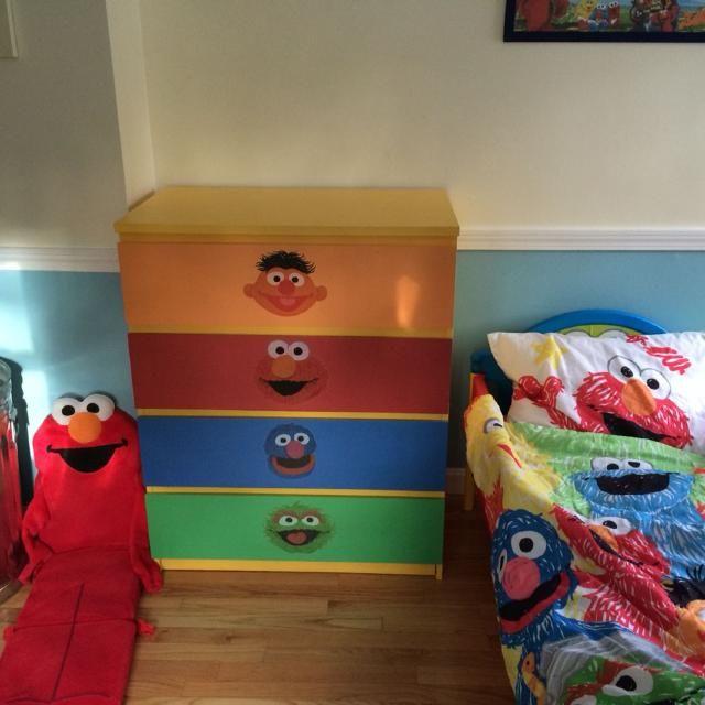 Elmo Bedroom Set Elmo Bedroom Bedroom Set Mattress Room