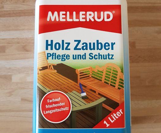 Getestet wurde folgendes Produkt: MELLERUD HOLZ ZAUBER PFLEGE UND SCHUTZ (1 Liter), das mir von der MELLERUD Chemie GmbHkostenlos zur Verfügung gestellt wurde. Vielen Dank dafür! Produktbeschreibu…