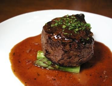 DEMI GLACE SAUCE http://doreenskitchen.com/DemiGlace.html A very thin brown sauce to top on Steaks and Chops. Yield: 2 cups Cook Time: 1 hour 1. Make Brown Stock (which also has Chicken Broth/Stock in it. 2. Make Espagnole Sauce. 3. Make demi-glace.