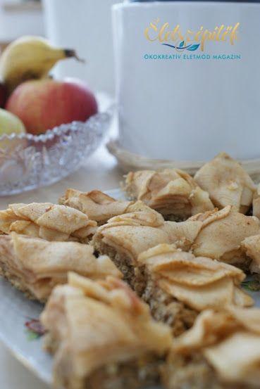 Zabpelyhes almás szelet | Életszépítők
