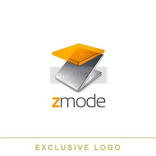 Modern Furniture Logo, modular furniture design logo, glass and metal Z logo, https://pixellogo.com/collections/photography/products/3d-ex-918